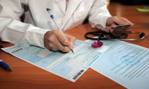 Правила заполнения больничного листа медицинским учреждением и образец